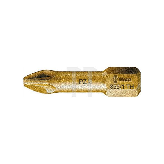 Bit PZD Gr.3 L.25mm 855/1TH extrahart WERA Antrieb C6,3
