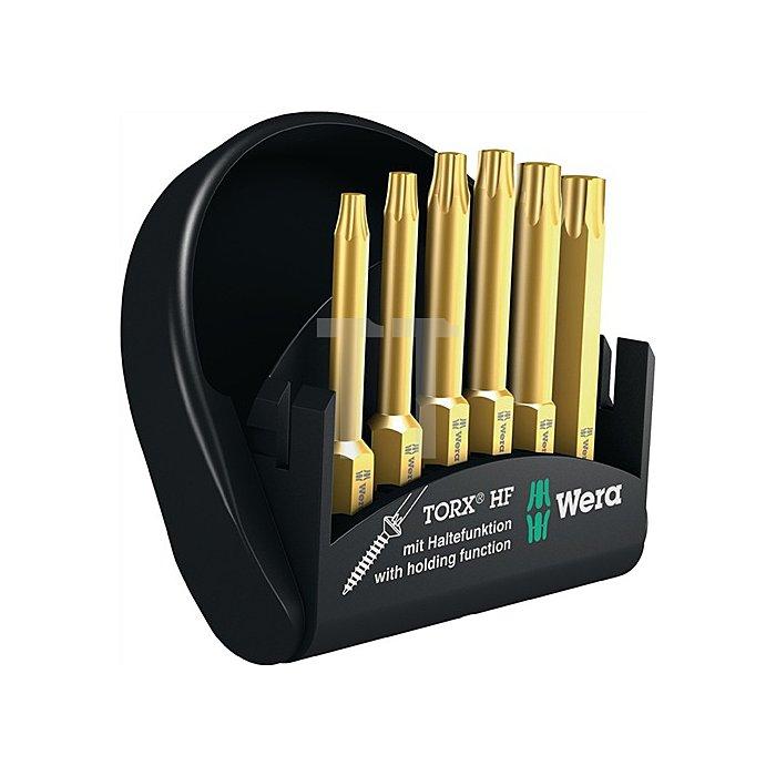 Bit-Sortiment 6tlg.Bits 50mm Torx m.Haltefunktion i. kompakter Box