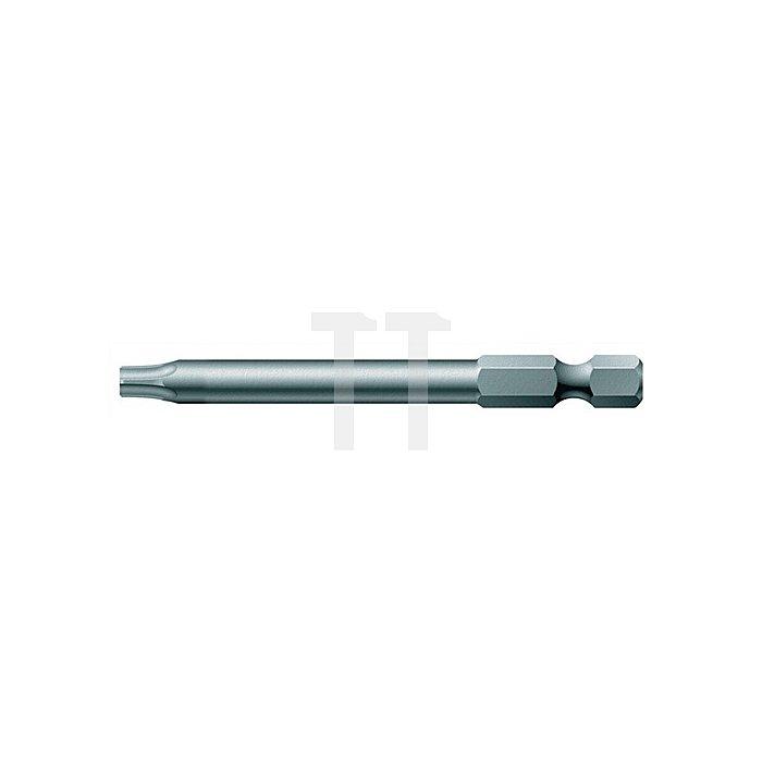 Bit TORX 25 L.89mm 1/4 Zoll 6KT D6,3 zähh. Karte m. 1 St. 867/4 Z SB