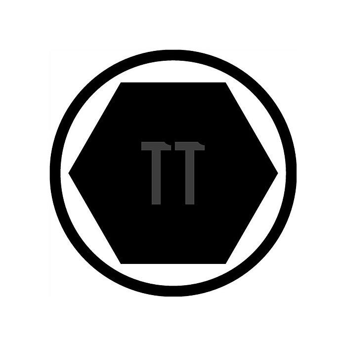 Bitsortiment 13 tlg. Schlitz/PH/PZD/TX 6kant Bits 25mm lang Halter mit Magnet