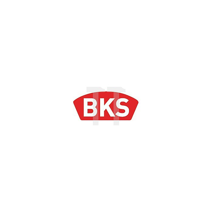 BKS 0515 Kl3 DIN rs BAD Dorn 60/78/8mm Stulp 20mm NiSi abgr.