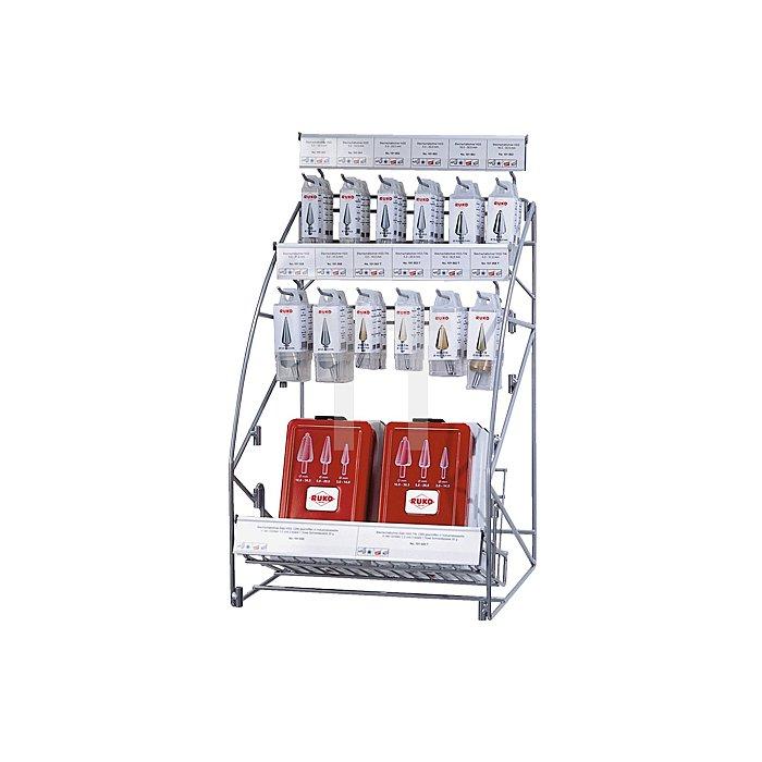 Blechschälbohrer-Modul HSS + HSS-TiN, mit Kreuzanschliff in Quadro Pack