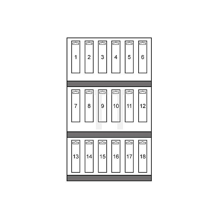 Blechschälbohrer und Stufenbohrer-Modul HSS + HSS-TiN, mit Kreuzanschliff in Quadro Pack