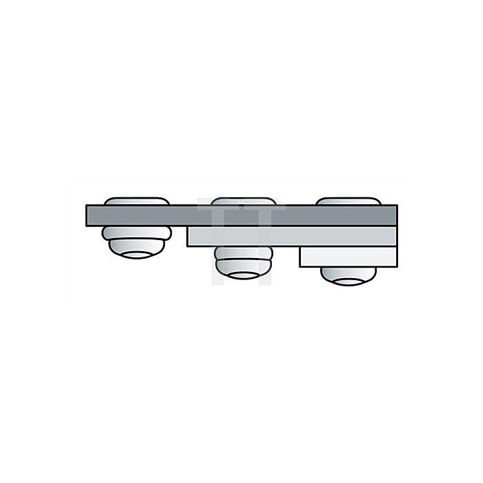Blindniet Alu./Stahl 4,8x15mm dxl PolyGrip GESIPA f.4,5-11mm
