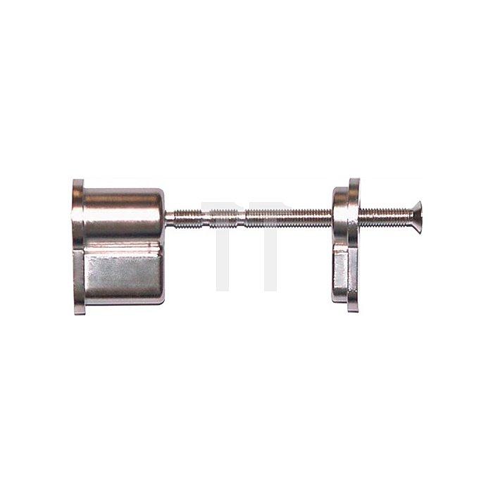 Blindzylinder-Set Türstärke min 35mm max 110mm Aluminium Druckguß