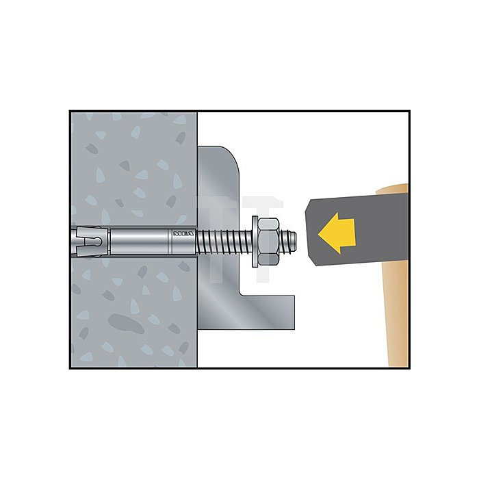 Blitzanker BAZ M8-147/85 galv. verz. ETA-Zulassung Option 1