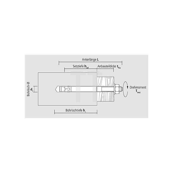Blitzanker BAZ M8-72/10 galv. verz. ETA-Zulassung Option 1
