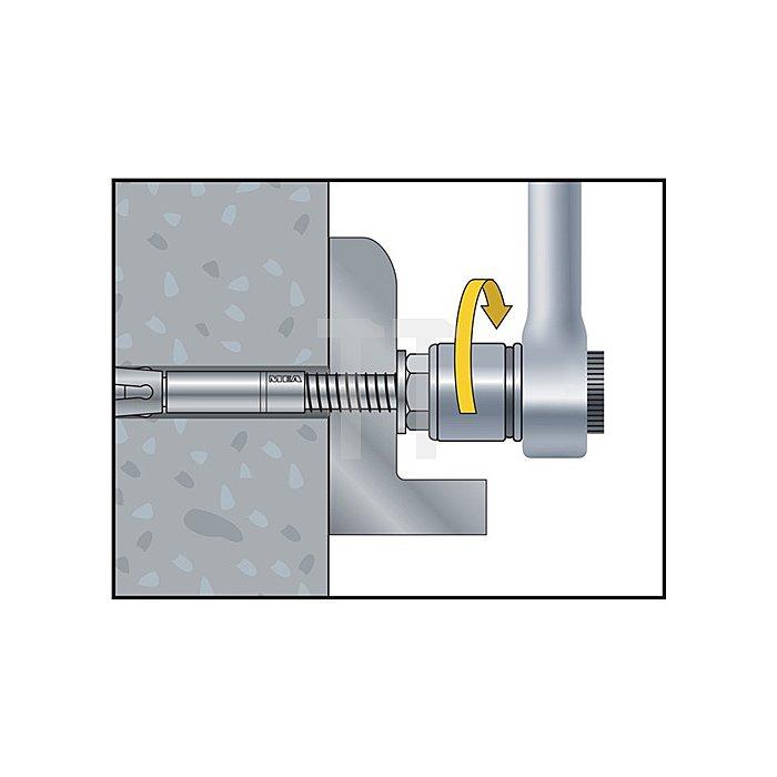 Blitzanker BAZ M8-92/30 A4 nicht rostender Stahl A4 ETA-Zulassung Option 1