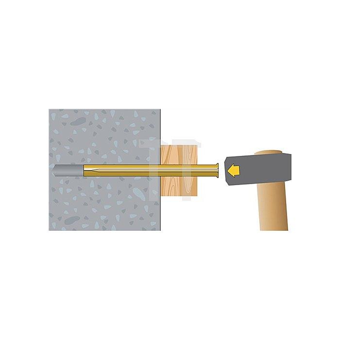 Blitznagel BN 8-90 galv. gelb verz. VE: 50 Stk. / 20 VE = 1 Umkarton apolo MEA