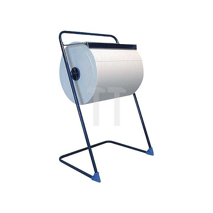 Bodenständer Metall blau lackiert
