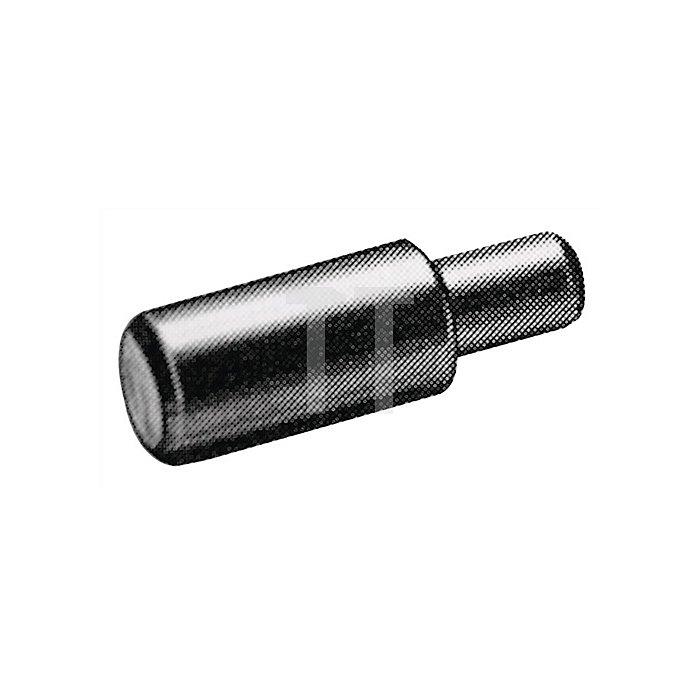 Bodenträger 16181 für 5mm Lochreihe Holzböden Zinkdruckguß vernickelt