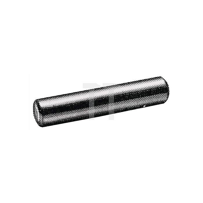 Bodenträger 215124 Länge 24mm für 5mm Lochreihe Stahl chromatiert