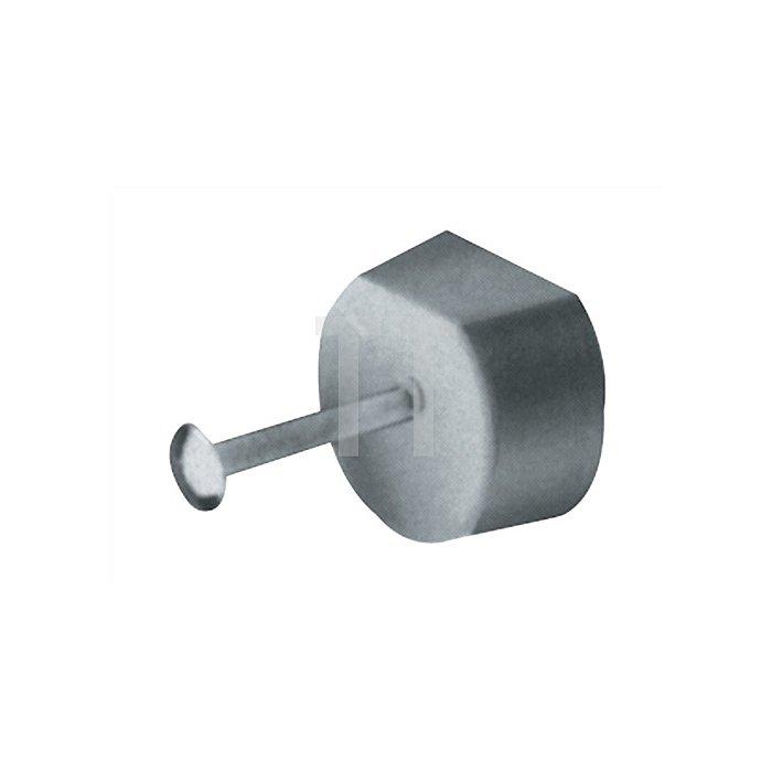 Bodenträger Perfekt F / 013130 auch als Fachbodensicherung einsetzbar Stahlstift
