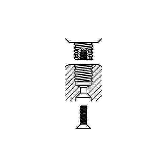 Bohrfutter Prima Spann-W.0,8-10mm 1/2Zoll-20 f.Rechts-/Linkslauf