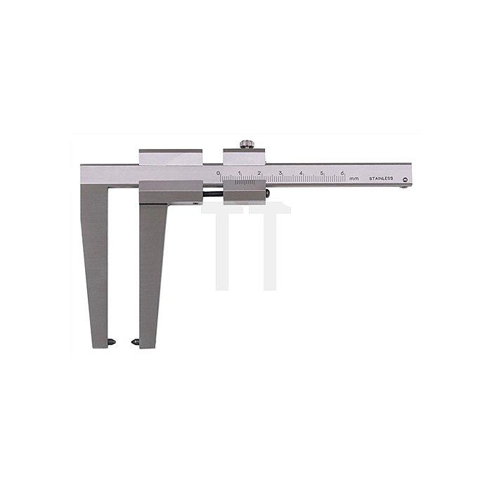 Bremsscheibenmessschieber 0-50mm Schnabel-L.50mm
