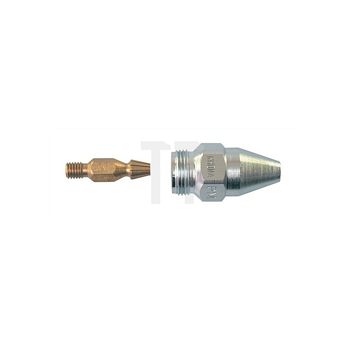 Brennschneiddüse PUZ89 3-10mm Propan Erdgas unverchromt