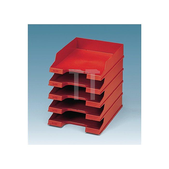 Briefablage Ku.rot DINA4-C4 H67xB245xT350mm