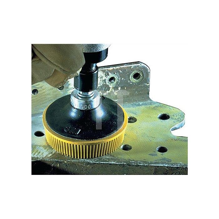 Bürstenscheibe RD-ZB Roloc Bristle Disc D.50,8mm K.80 Scotch Brite gelb