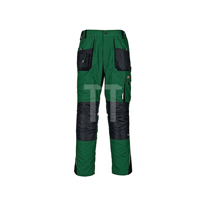 Bundhose Gr.58 grün/schwarz 65%PES/35%BW