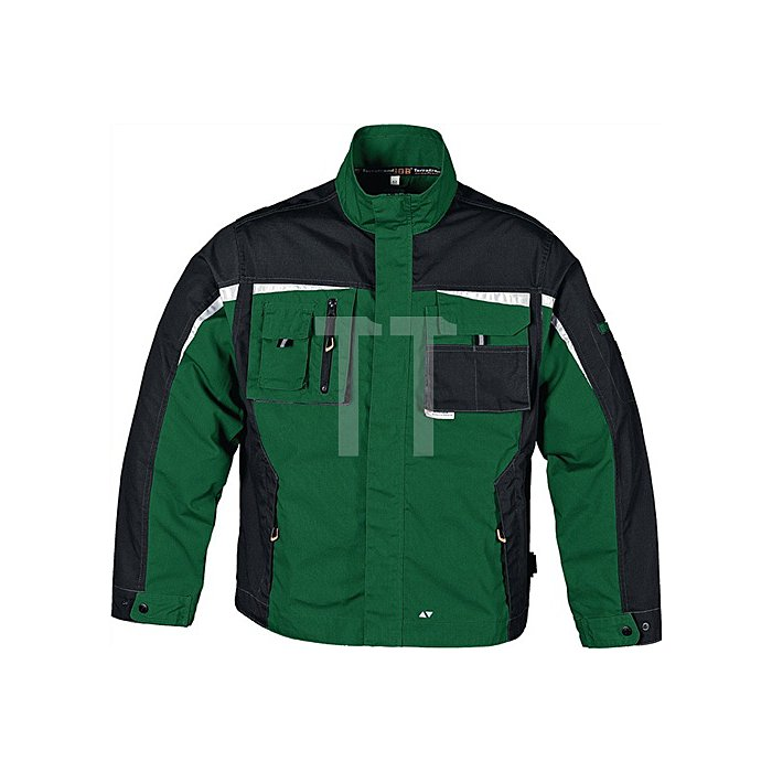 Bundjacke Gr.48 grün/schwarz 65%PES/35%BW