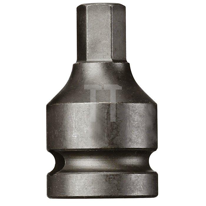 CAROLUS Schlagschraubereinsatz 1/2 Innen-6kt 12 mm