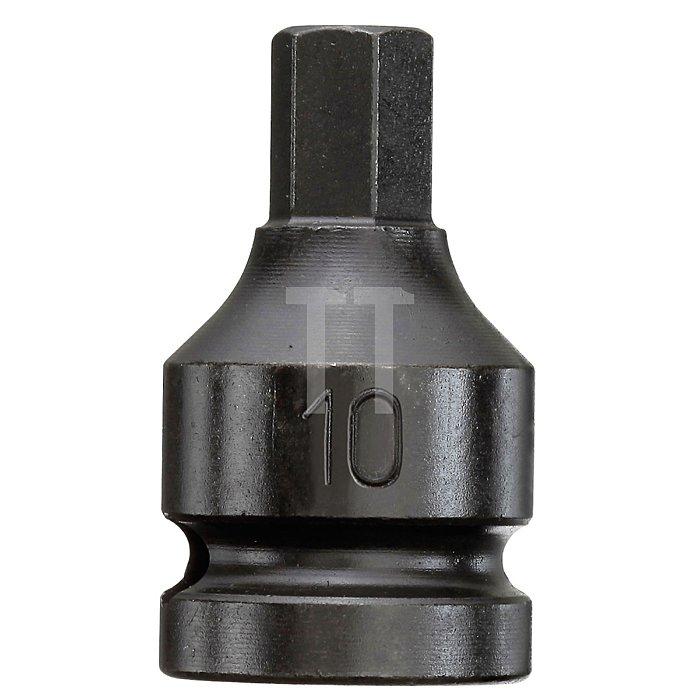 CAROLUS Schlagschraubereinsatz 3/8 Innen-6kt 6 mm