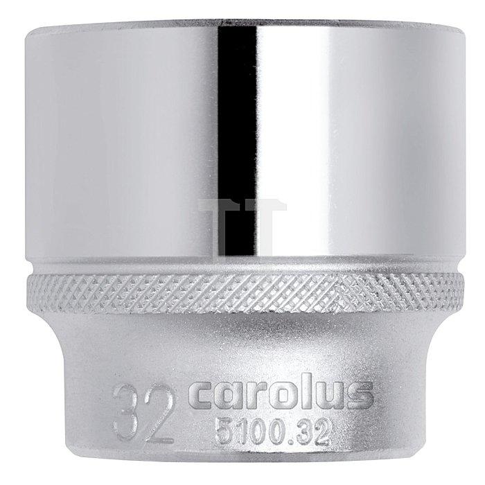 CAROLUS Steckschlüsseleinsatz 1/2, 20 mm
