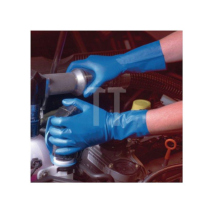 Chemikalien-Handschuh EN388 EN374 EN421 Kat. III Virtex# Nr. 79-700 Gr. 8 Nitril