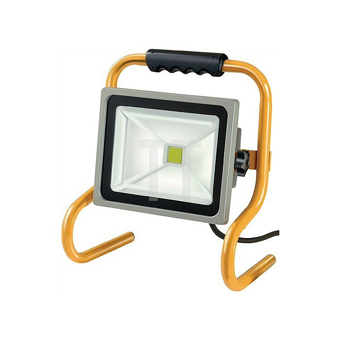 Chip-LED Leuchte 30W 5m H07RN-F 3G1,0 IP65 2100lm Stahlrohrgestell schwenkbar