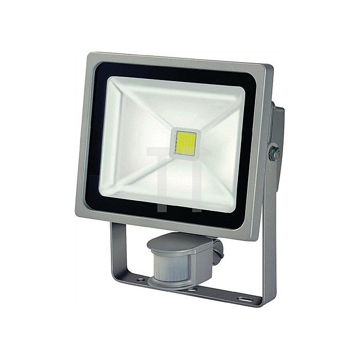 Chip-LED Leuchte 50W f.Wandmontage IP65 m.Bewegungsmelder 3500lm Alum.-Druckguss