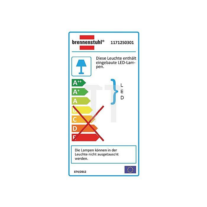 Chip LED Strahler m.Stativ 30W 1-2,3m H07RNF-3 G1,0 Kabel-L.5m schwere Profiausf