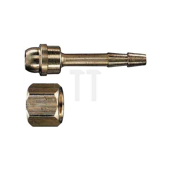 chlauchanschluss mit Sechskantmutter G 3/8 6mm  16,66 x 6mm