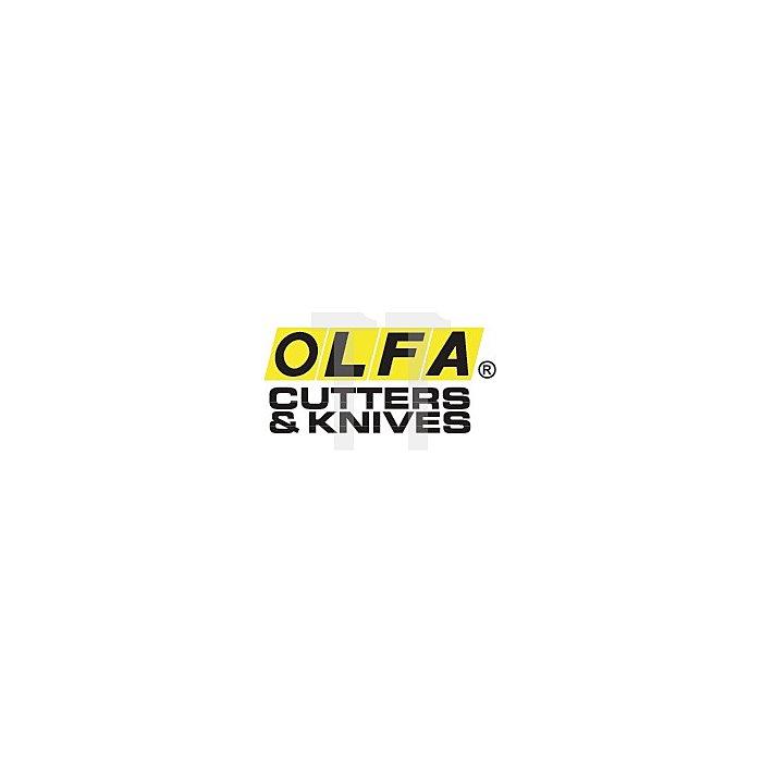 Cuttermesser B.18mm m.Drucktaster m.Stahlführung OLFA