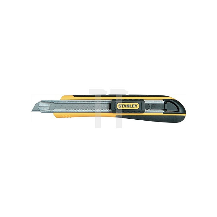 Cuttermesser FATMAX L.138mm 9mm Ku.-Gehäuse Klingenwechsel o.Werkzeug SB Stanley