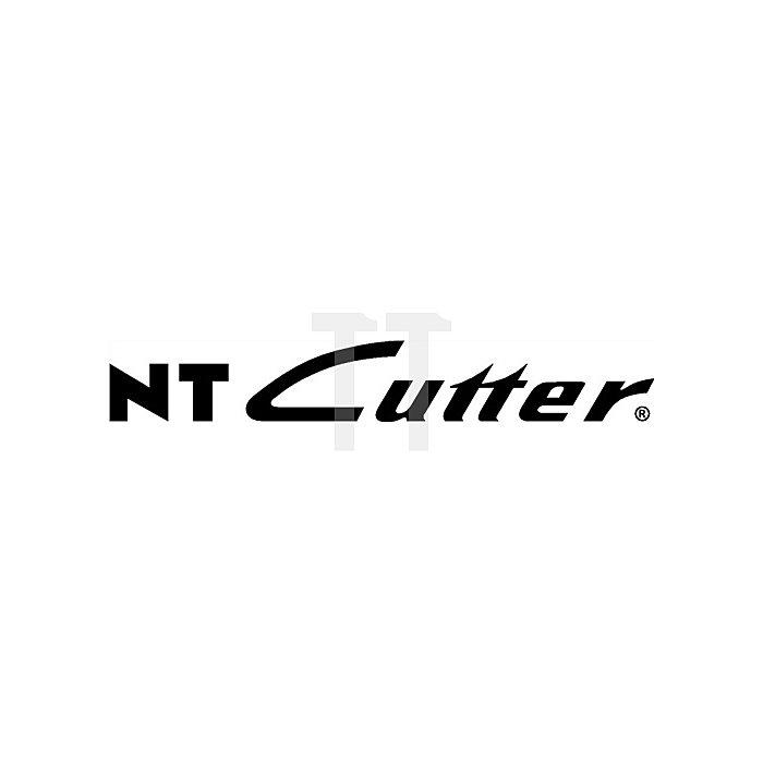 Cuttermesser L.157mm B.18mm Ganzmetall Drucktaste inkl.2 Klingen