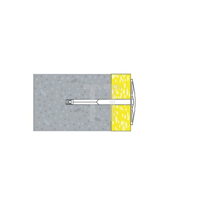 Daemmstoffhalter DSH 8X100 apolo MEA