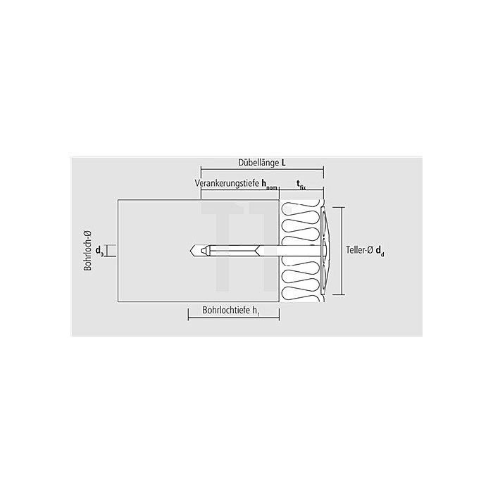 Daemmstoffhalter DSH M 60 apolo MEA