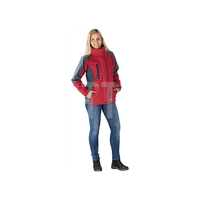 Damen Jacke Shape Gr.M rot/grau 100% Polyester