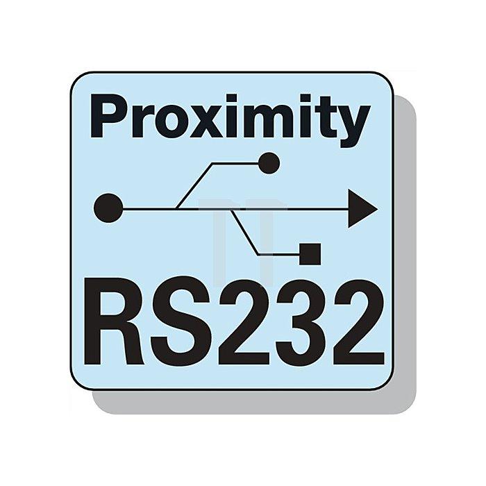 Datenkabel Proximity RS232 f.Digitalmessgeräte L.2m