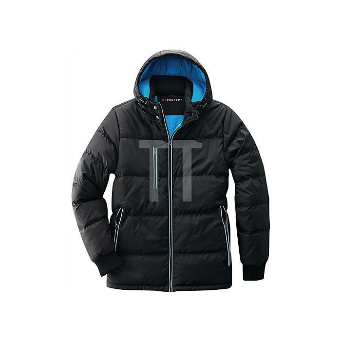 Daunen Thermojacke Bryan Gr.XL schwarz/blau 100% Nylon