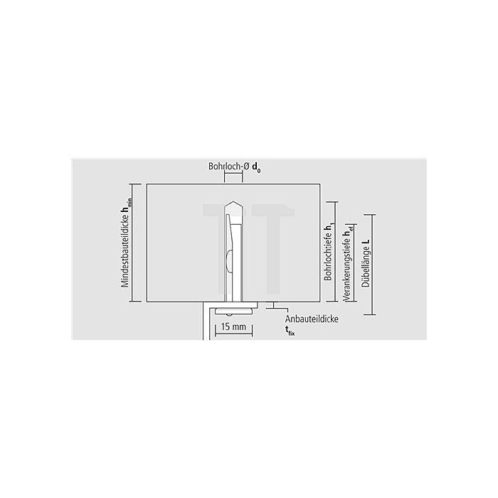 Deckenanker MDA 6/35 T galv. verz. ETA-Zulassung Teil 6