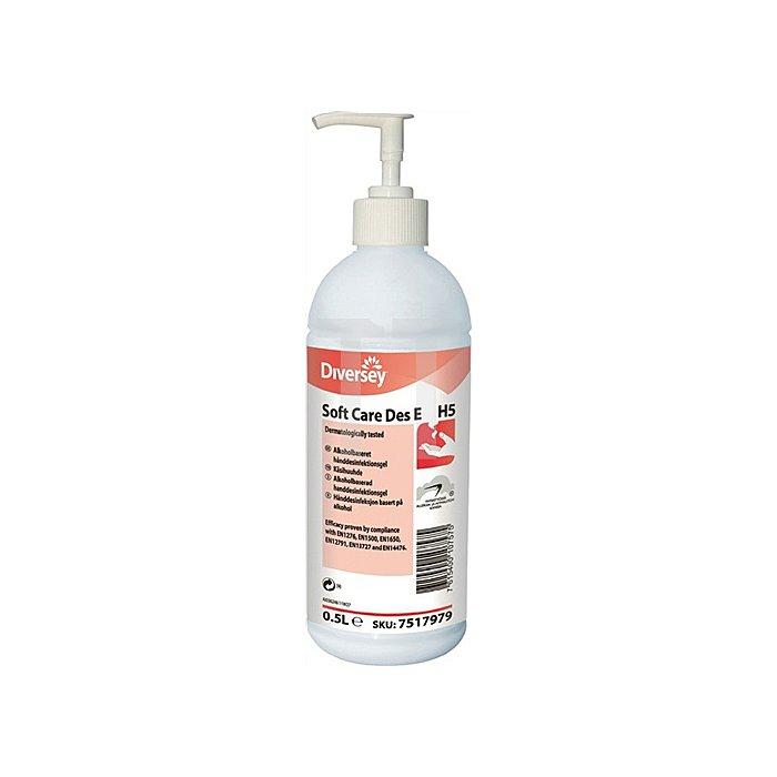 Desinfektionsmittel Soft Care 0,5l m.Alkohol