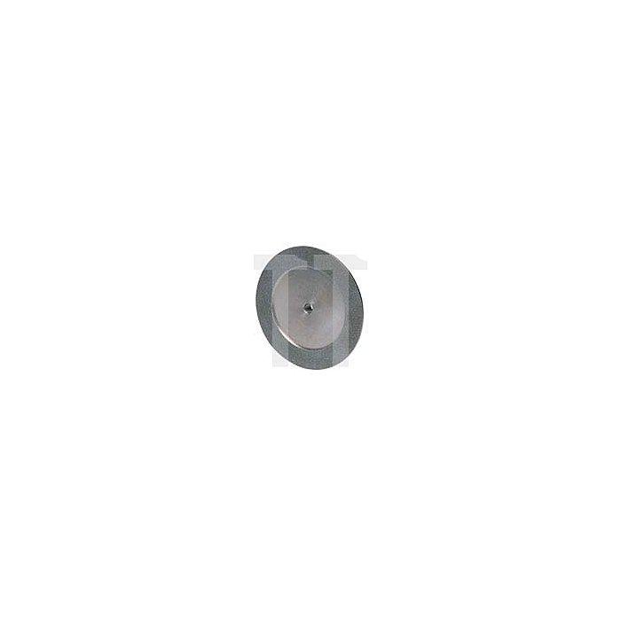 Diamantschleifscheibe 3-seitig mit Radius für Spanflächen