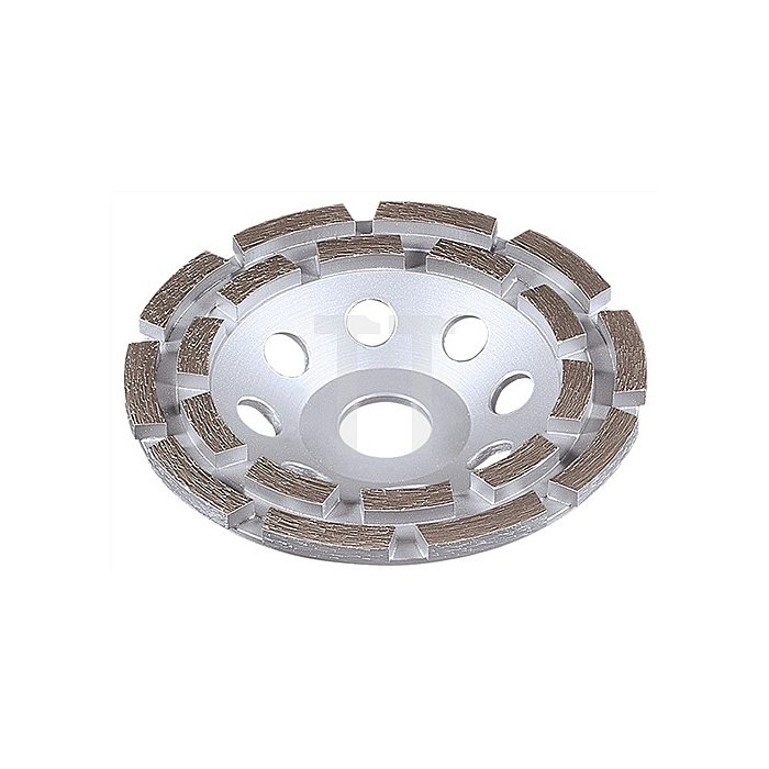 Diamantschleiftopf D.125mm 1fach f.Beton/Granit u.DIEWE Baustellenmat.