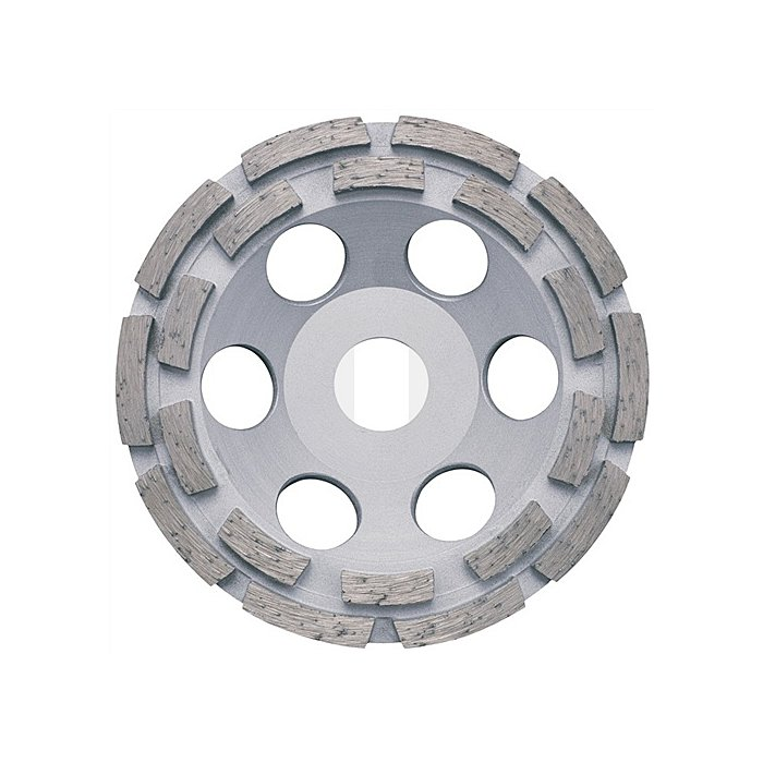 Diamantschleiftopf D.125mm 2fach f.Beton/Granit u.DIEWE Baustellenmat.