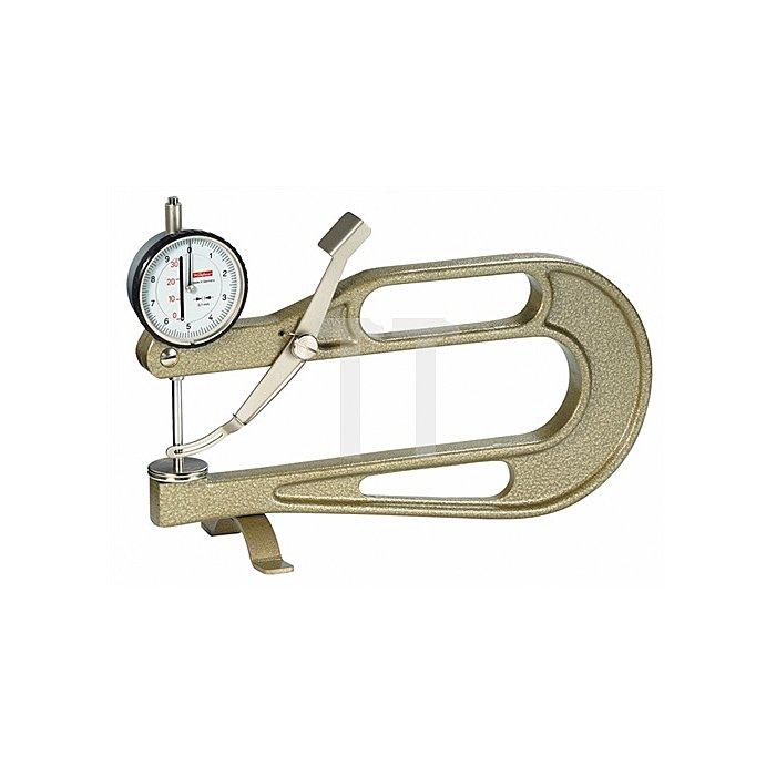 Dickenmessgerät K200B 30mm Ablesung 0,1mm flach 20=b