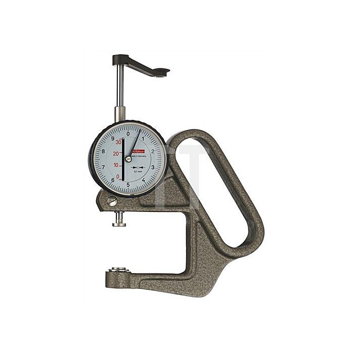 Dickenmessgerät K50/3B 30mm Ablesung 0,1mm flach 20=b