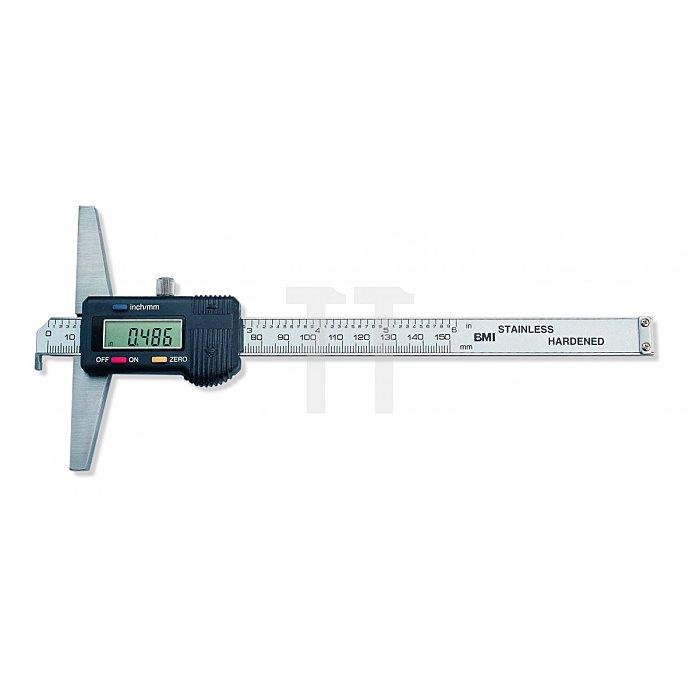 BMI Digitaler Tiefenmesschieber, Tiefenmesschieber 150mm 773150