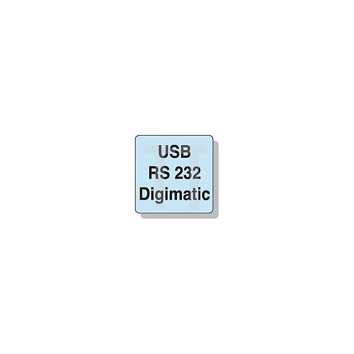 Digitalbügelmessschraube DIN863/1 DIGI-MET 0-25mm m.Datenausgang