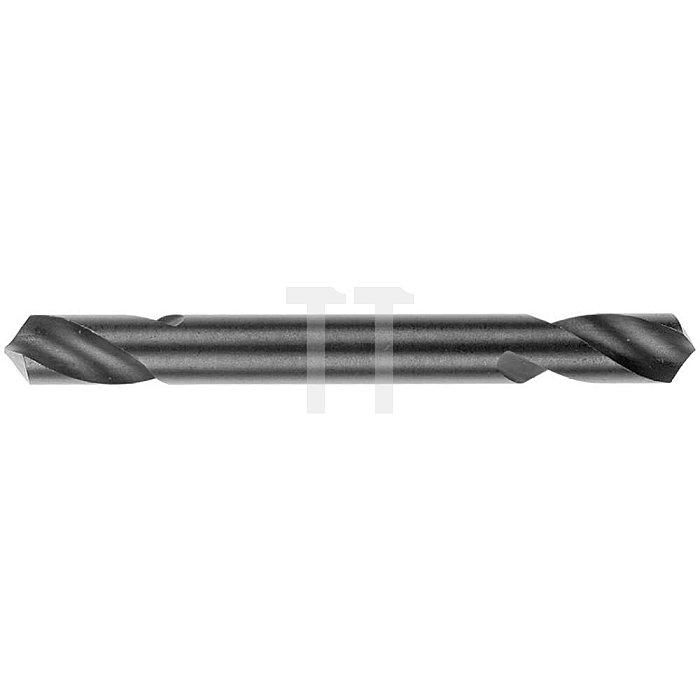 Doppel-Löher, zyl., extra kurz Ø 9,5mm Typ N HSS rechts